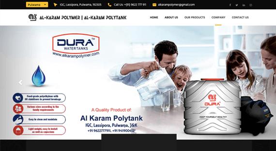 Al Karam Polymer (Single Page Application)